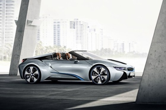 BMW i8, a few days after the start of production